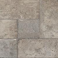Leggiero Grey Gloss Stone effect Laminate Flooring Sample