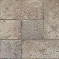 Leggiero Grey Natural stone effect High-density fibreboard (HDF) Laminate Flooring Sample