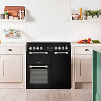 Leisure Chefmaster CC90F531K Freestanding Dual fuel Range cooker with Gas Hob