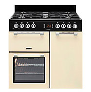 Leisure Cookmaster CK90G232K Freestanding Gas Range cooker with Gas Hob