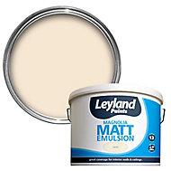 Leyland Magnolia Matt Emulsion paint, 10L
