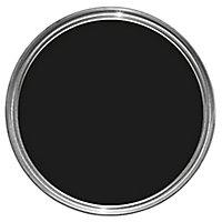 Leyland Trade Black Matt Emulsion paint, 5L