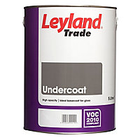 Leyland Trade Brilliant white Metal & wood Undercoat, 5L