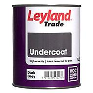 Leyland Trade Dark grey Metal & wood Undercoat, 750ml