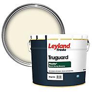 Leyland Trade Pliolite Magnolia Smooth Matt Masonry paint, 10L
