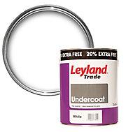 Leyland Trade Pure brilliant white Gloss Undercoat, 3L
