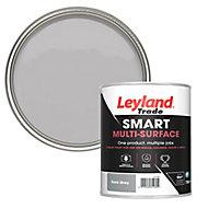 Leyland Trade Smart Dark grey Mid sheen Multi-surface paint, 750ml