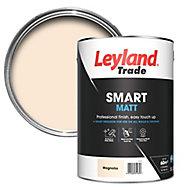 Leyland Trade Smart Magnolia Flat matt Emulsion paint, 5L