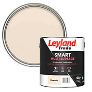 Leyland Trade Smart Magnolia Mid sheen Multi-surface paint, 2.5L