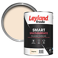 Leyland Trade Smart Magnolia Mid sheen Multi-surface paint, 5L