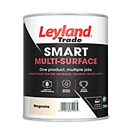 Leyland Trade Smart Magnolia Mid sheen Multi-surface paint, 750ml
