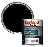 Leyland Trade Specialist Black Semi-gloss Metal paint, 0.75L