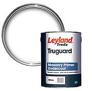 Leyland Trade Truguard White Masonry Primer & undercoat, 5L