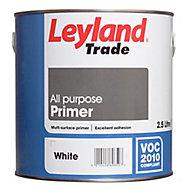 Leyland Trade White Multi-surface Primer, 2.5L