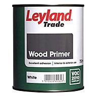 Leyland Trade Wood White Wood Primer, 0.75