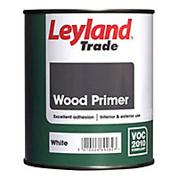 Leyland Trade Wood White Wood Primer, 2.5L