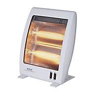 Light grey Electric Quartz heater 1000W