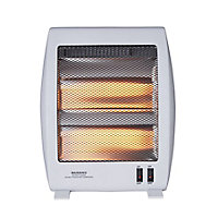 Light grey Electric Quartz heater 1000W