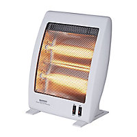 Light grey Freestanding Electric Quartz heater 1000W