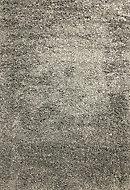 Lila Shaggy Dark grey Rug (L)1.7m (W)1.2m