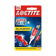 Loctite All plastics Liquid Superglue 2g
