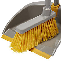Long handle dustpan & brush set, (W)255mm