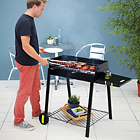 Longley Black Charcoal Barbecue