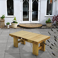 Low sleeper Wooden Fixed Table