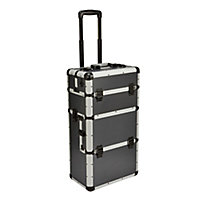 "Mac Allister 15"" Aluminium 24 compartment Tool case"