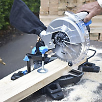 Mac Allister 1500W 220-240V 210mm Compound mitre saw MMIS210C-B