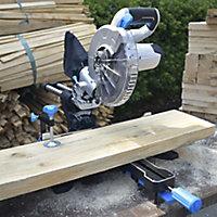 Mac Allister 1500W 220-240V 210mm Sliding mitre saw MMIS210S-B