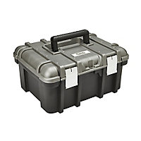 "Mac Allister 16"" Plastic 1 compartment Power tool case"