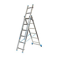 Mac Allister 18 tread Combination Ladder