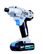 Mac Allister 18V 1.5Ah Li-ion Brushed Cordless Impact driver 2 batteries MSID18-Li