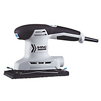 Mac Allister 200W 220-240V Corded 1/3 sheet sander MSSS200