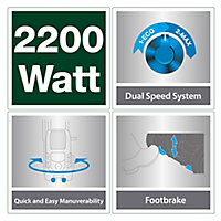 Mac Allister Corded Pressure washer 2.2kW
