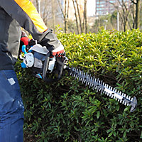 Mac Allister EasyCut 55cm Petrol Hedge trimmer