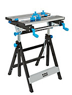 Mac Allister Foldable Folding Work table, (H)1075mm