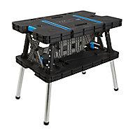Mac Allister Foldable Folding Workbench, (H)755mm