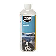 Mac Allister Fragrance free Car & bike Shampoo detergent, 1L Jerry can