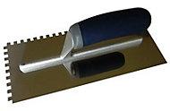 Mac Allister Notched Trowel (L)280mm (W)120mm