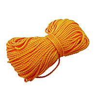 Mac Allister Orange Braided nylon Brick line 18m