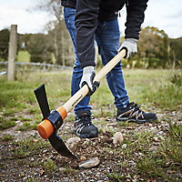 Magnusson 2.2kg Mattock with Hickory handle