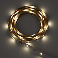 Mains-powered LED White Strip light IP20 200lm (L)1.5m