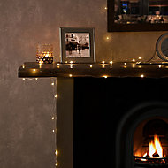 Mains-powered Warm white 100 LED Indoor String lights