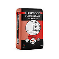 Make Good Driwall Grey Plasterboard adhesive, 10kg Bag