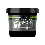 Make Good Plasterboard Jointing, filling & finishing compound, 15kg Tub