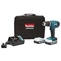 Makita G-Series 18V 1.5Ah Li-ion Cordless Combi drill 2 batteries HP457DWEX2
