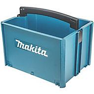 Makita MakPac Plastic 1 compartment Toolbox