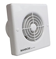 Manrose QF100S Bathroom Extractor fan (Dia)100mm